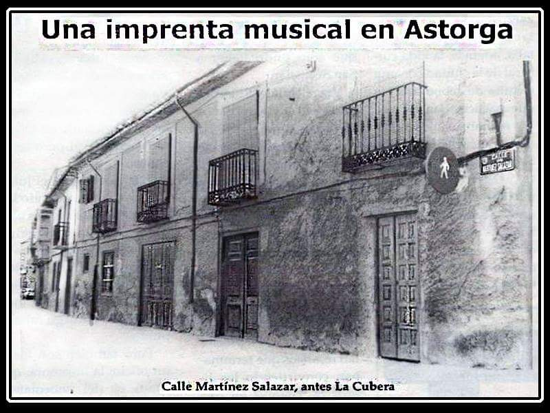 A musical printer in Astorga